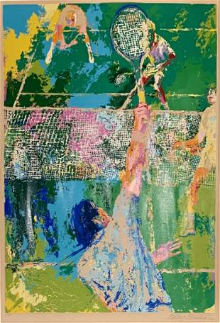 LEROY NEIMAN, Hand signed and numbered color serigraph.