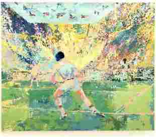 Leroy Neiman, Hand signed and numbered serigraph