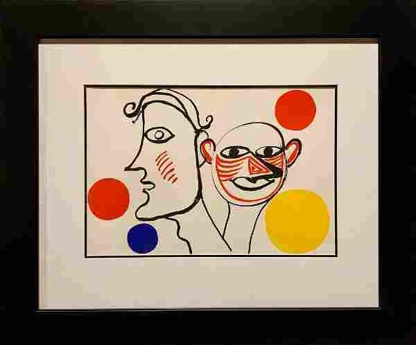 Alexander Calder, Original color lithograph
