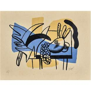 Fernand Leger, Hand Signed Lithograph on Arches