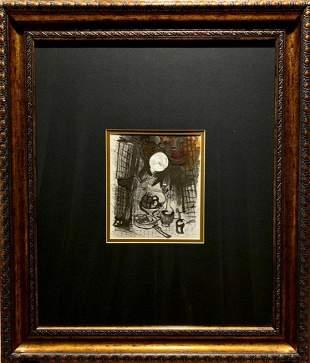 Marc Chagall, original lithograph, 1957