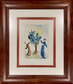 Salvador Dali, Original woodblock engraving