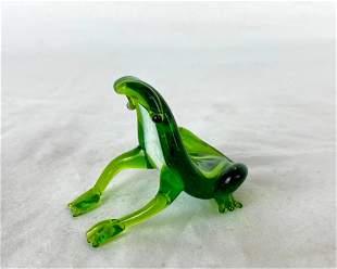 Small Murano Glass Frog