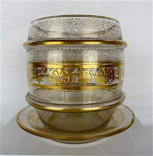 19th Century French Crystal Candy Dish