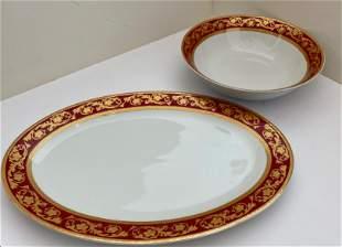 Serving Platter and Bowl Set
