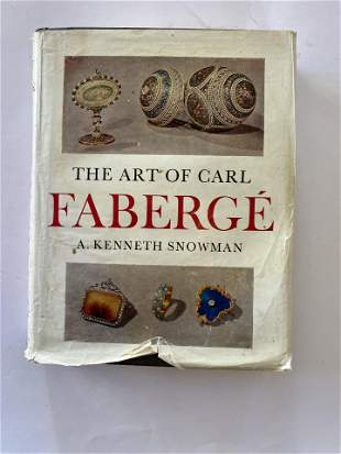 Book- The Art of Carl Faberge