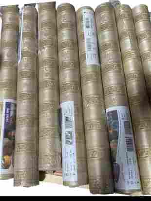 Fine Décor Wallcoverings Damask Floral Stripe Lot