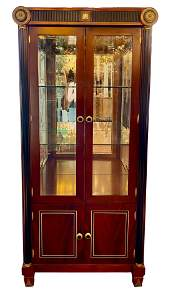 Marquetry Empire Style Cabinet