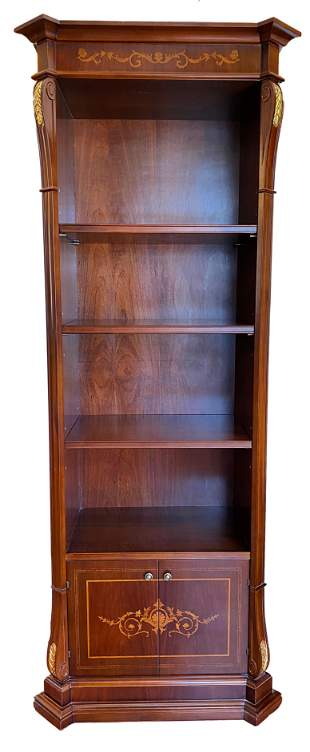 Empire Style Marquetry Bookshelf