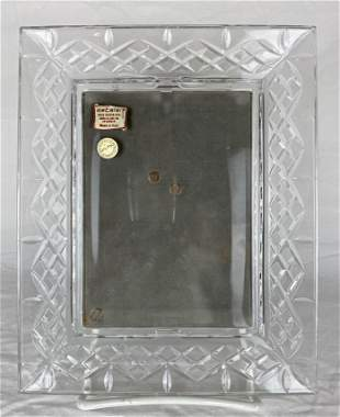 Italian Crystal Picture Frame