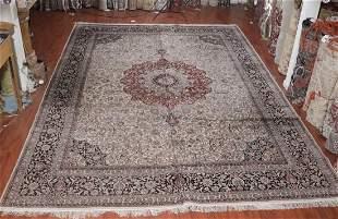 Persian Kashan Rug 10x14ft
