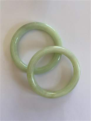 2 Jade Bangles