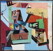 Peter Busa (1914-1985)   Homage to Raymond Jonson