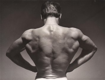 Studio ARAX, Bodybuilder Rene Monchablon, 1952