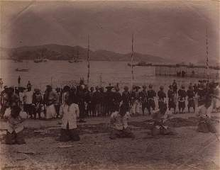Execution of Chinese Pirates in Hong Kong, c. 1870