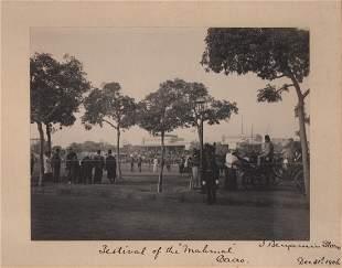 J. Benjamin Stone, Festival of Mahmal, Cairo Egypt 1906