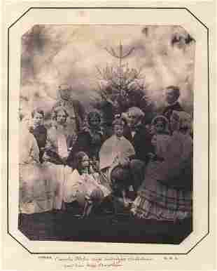 Richard Dykes Alexander, Charles Hope Family Salt Print