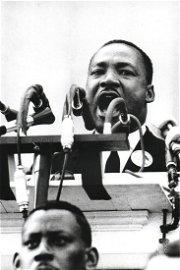 Flip Schulke, Martin Luther King Jr. Wash. DC, c. 1963