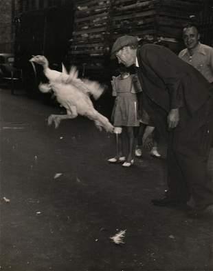 Weegee, Aftermath of Turkey Truck Crash, c. 1940s