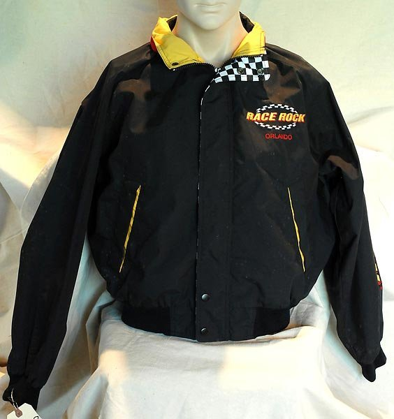 Black Race Rock Of Orlando Windbreaker Jacket