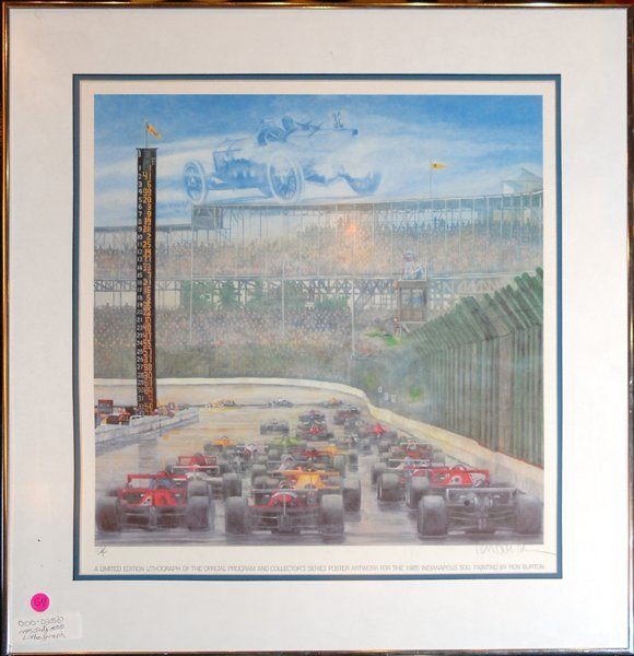 1985 Indianapolis 500 Limited Edition Lithograph