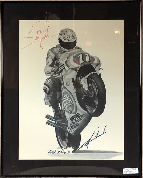 Scott Russel #11 Lucky Strike Superbike Artwork