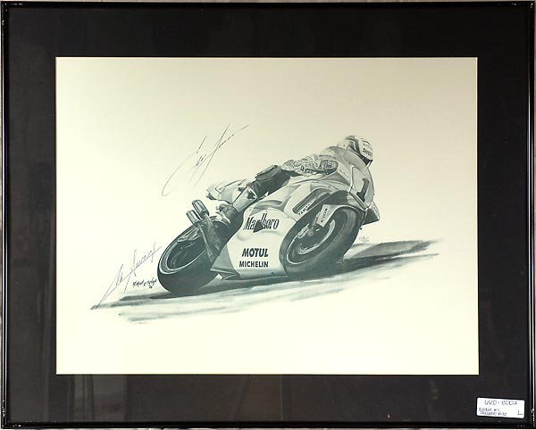 Eddie On #1 Marlboro Superbike Artwork