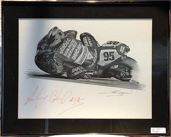 Andy Gobert #95 Vance & Hines Superbike Artwork