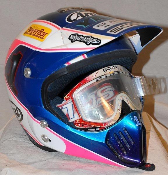 Jeff Stanton Motorcross #1 Arai -Race Used Helmet