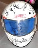50: Rare Multi Signed Race Helmet Petty, Force, Unser