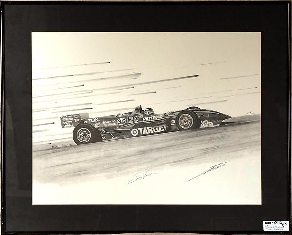 505: Jimmy Vasser Target Car Artwork By Michael Savage