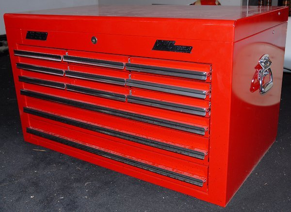 520: Mac Tools Tool Box Red 12 Drawer