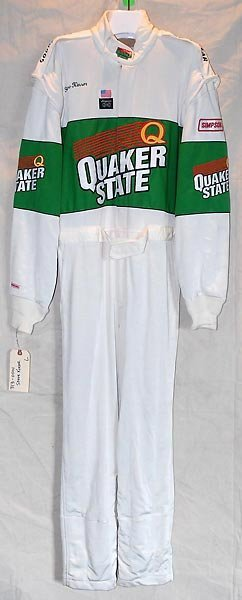 540: Steve Kinser Quaker State Race Used Race Suit