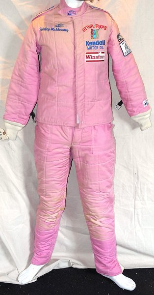601: Shirley Muldowney Otter Pops NHRA Race Used Suit