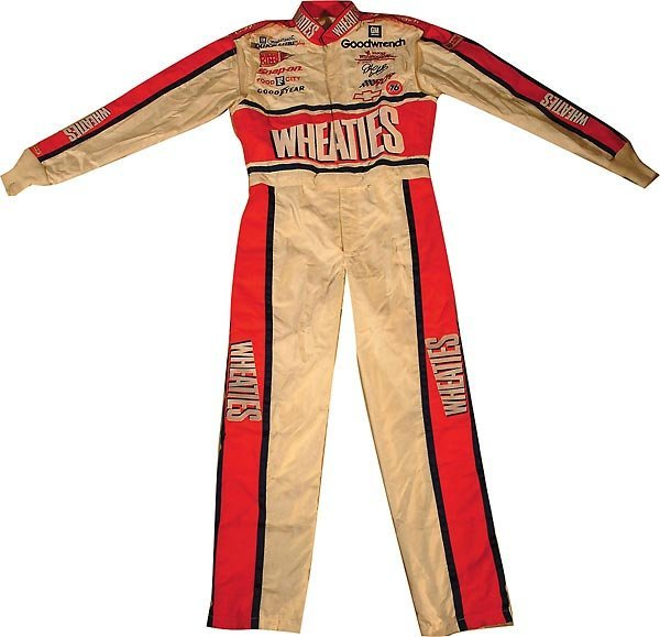 635: Dale Earnhardt Wheaties One Of A Kind Race Suit