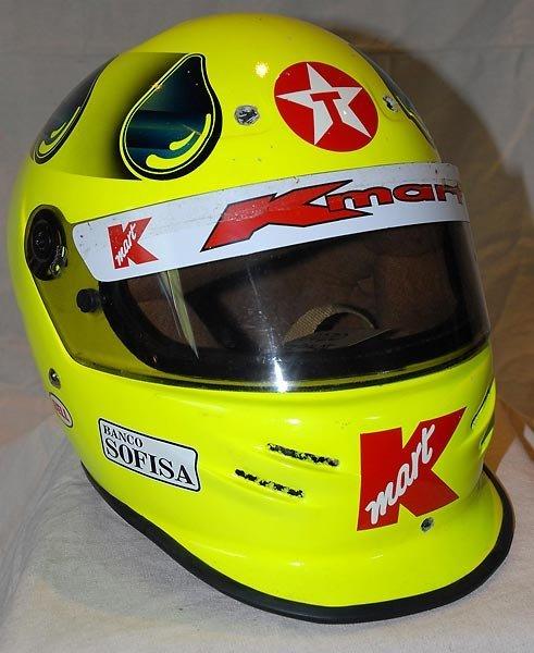 647: Christian Fittipaldi Texaco/Kmart Cart Helmet