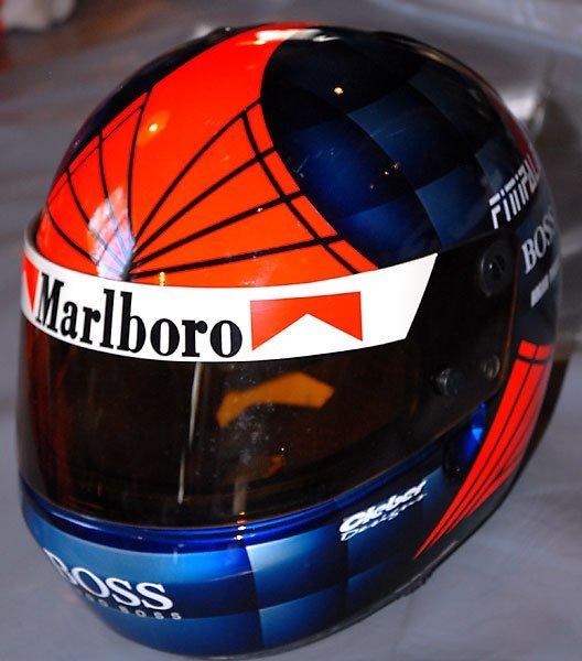 650: Emerson Fittipaldi Marlboro Cart Race Used Helmet