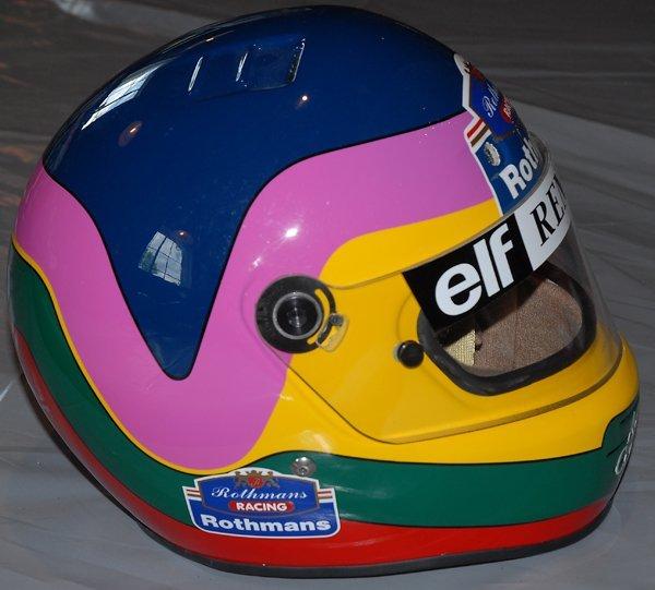 693: Jacques Villeneuve Rothmans F1 Helmet Race Used