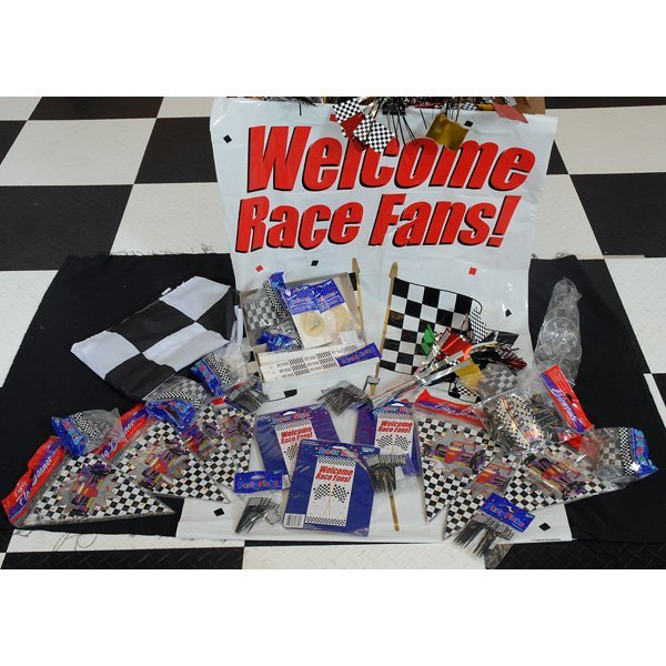 6: Nascar Ultimate Fan Party Kit Signs Banners More