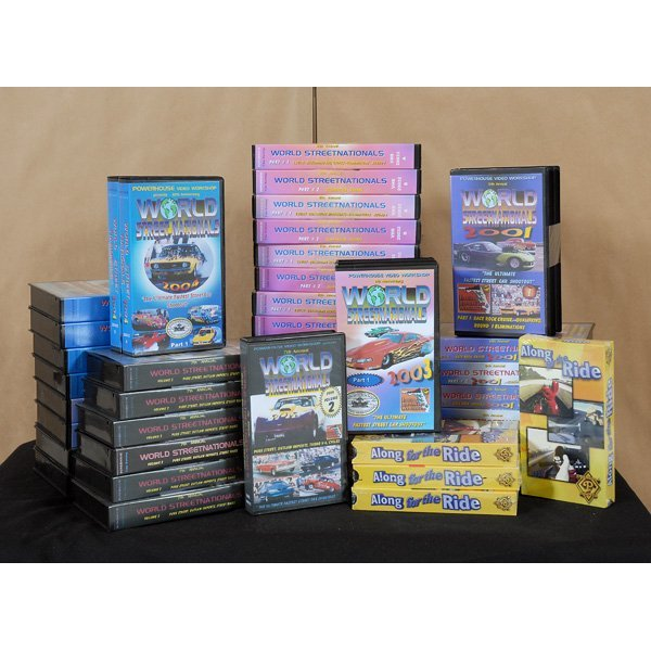 7: Misc Box of Racing Videos. Great Selection