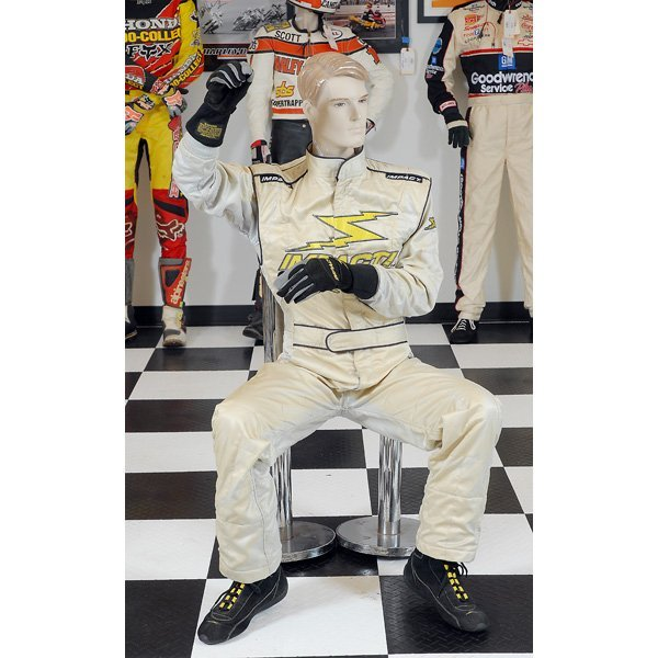 24: Impact Racing White Race Suit with Gloves & Shoes