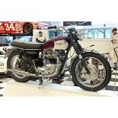 187: Steve McQueen 1967 Triumph Bonneville Motorcycle!!