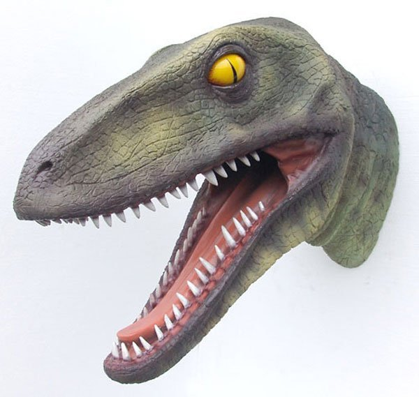 40005: T-Rex Head Wall Décor Free Shipping