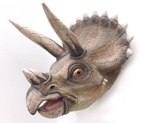 40006: Triceratops Head Wall Décor Free Shipping