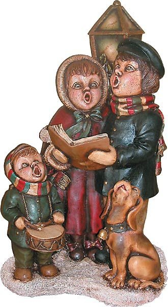 40007: The Christmas Carolers Statue Free Shipping