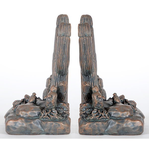 40017: Pair Cactus Bookends Free Shipping