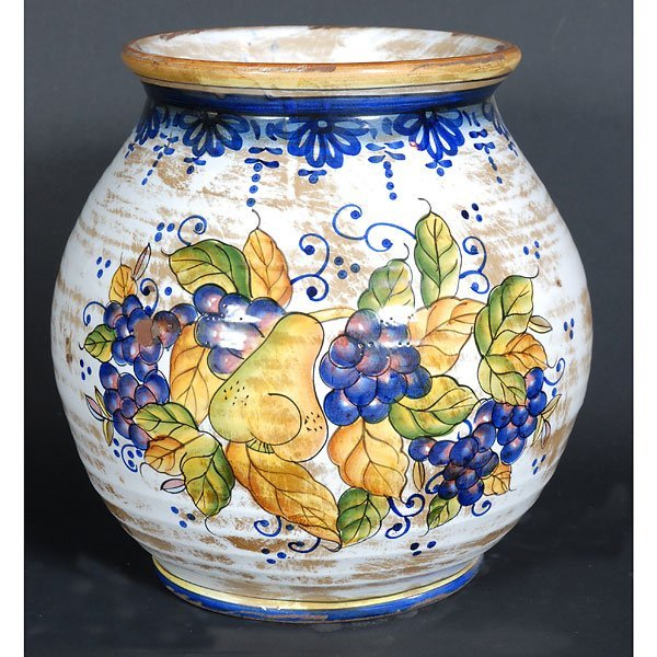 10003: Italian Style Glazed Fruit Pot
