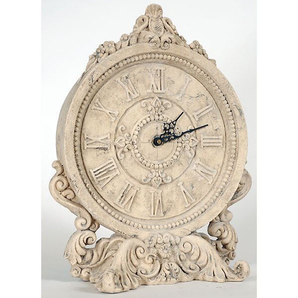10019: Fancy Verona Table Clock