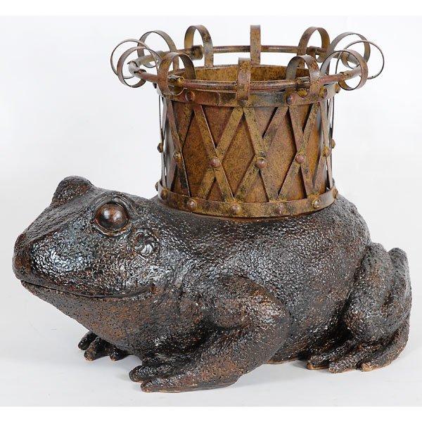 20001: Frog Iron Planter