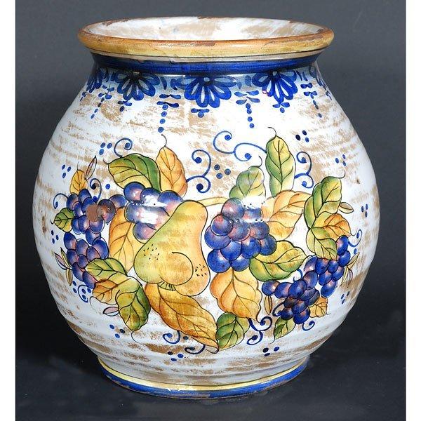 20003: Italian Style Glazed Fruit Pot